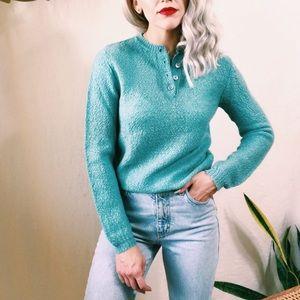 Vintage knit Henley